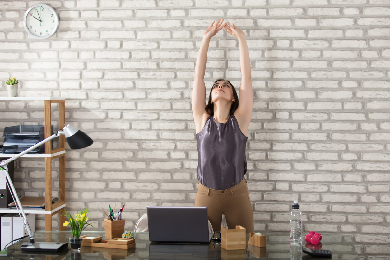 5 Yoga Poses To Boost Your Productivity