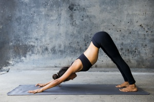 women finding out the physical benefits of yoga