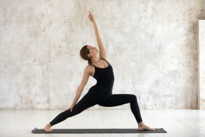 women posing to help with stress management