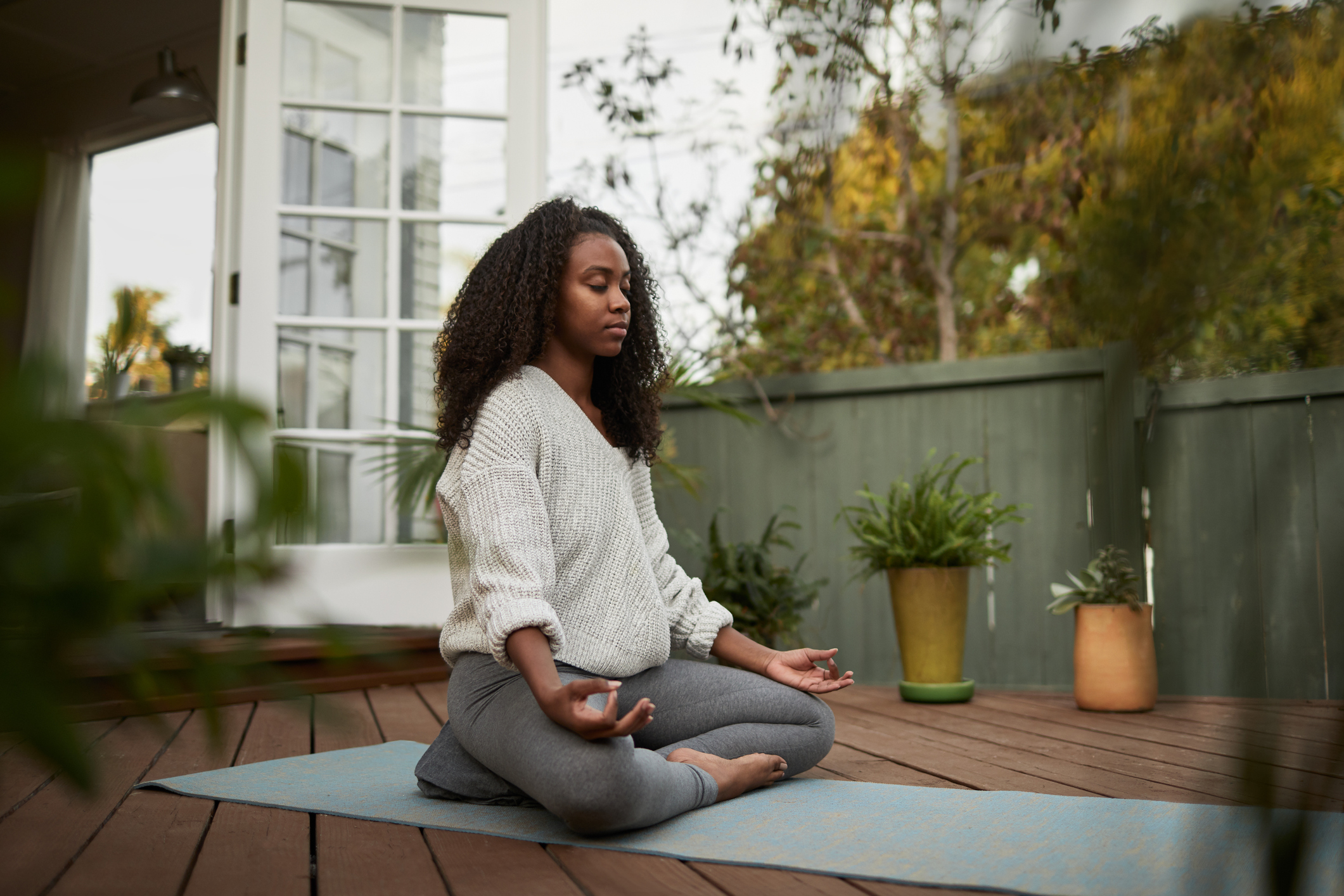A Home Yoga Flow for Balance and Soothing