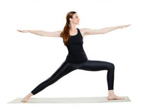 women in single lunge pose showing how to do it right