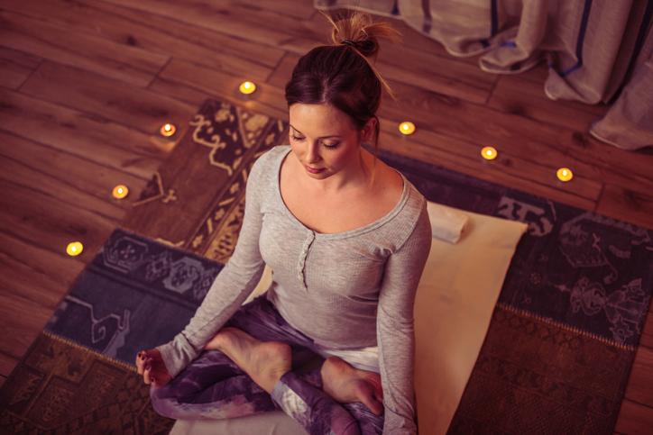 5 Restorative Holiday Yoga Poses For Stress