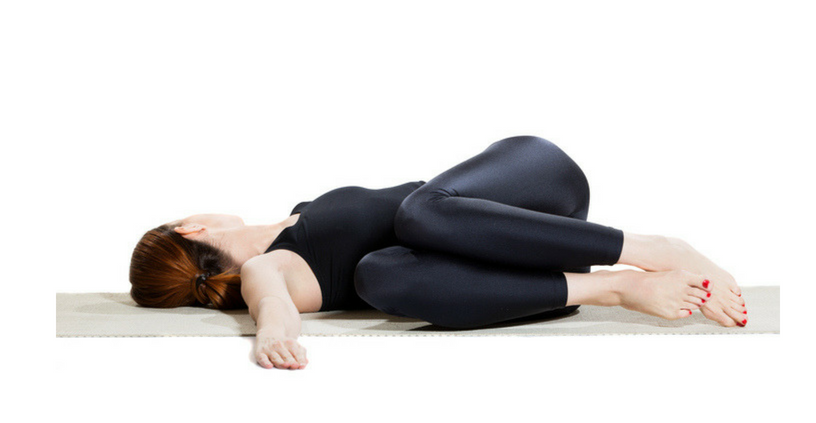 Supine Twist Yoga Poses For Lower Back Pain Relief