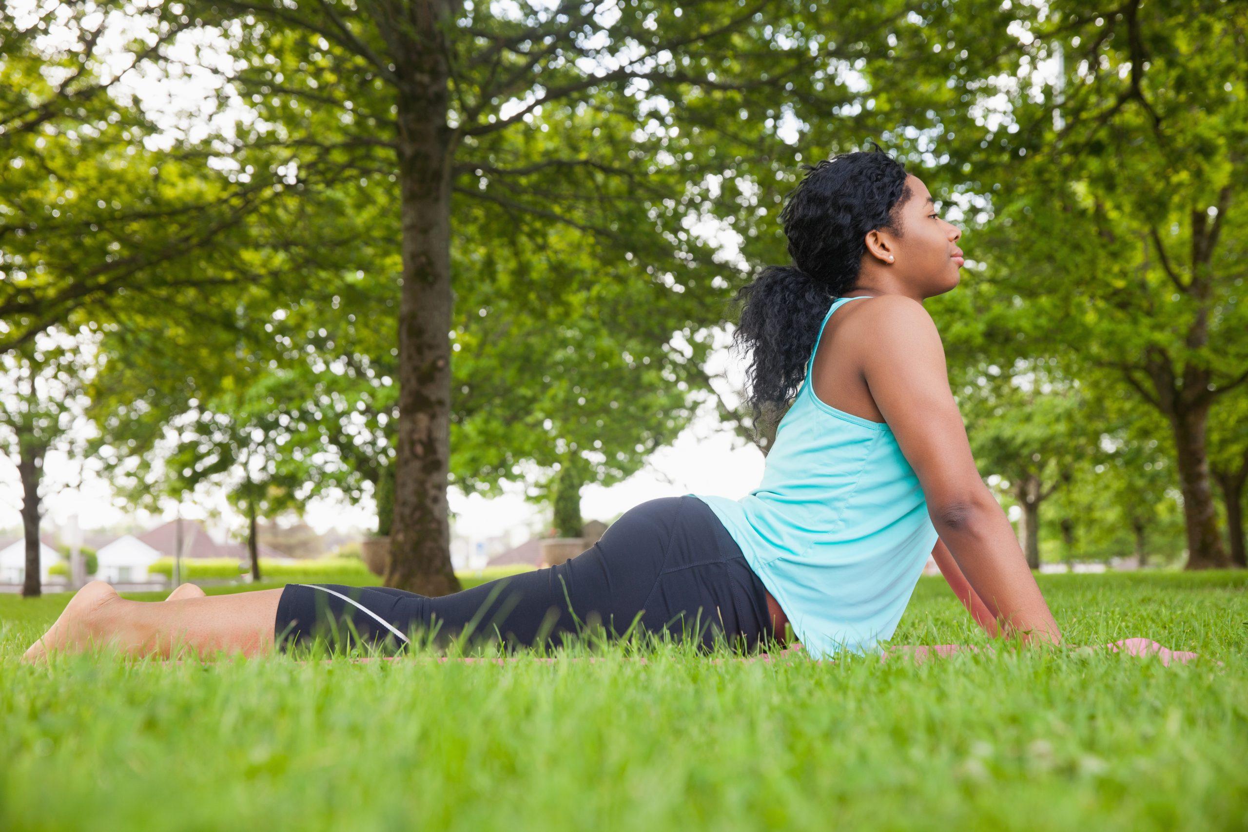 Building Spinal Strength from Cobra Pose to Upward Facing Dog